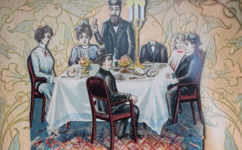 """Nowy rok żydowski nakartach """"Pustych krzeseł"""""""